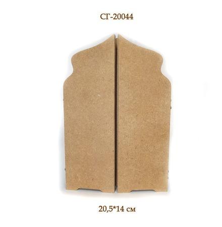 СГ-20044 Складень для икон.  Заготовки для декупажа ручной работы на заказ