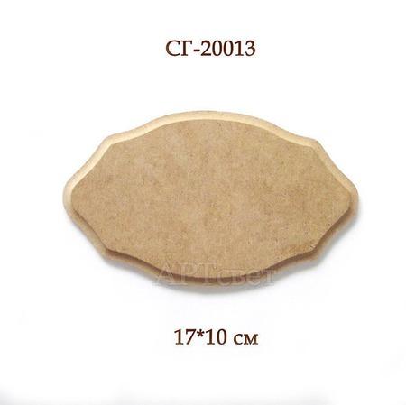 СГ-20013. Панно №3 с фаской. Заготовки для декупажа ручной работы на заказ