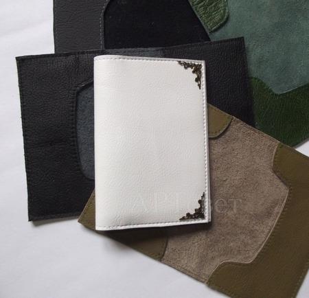 Обложки для паспорта кожзам ручной работы на заказ