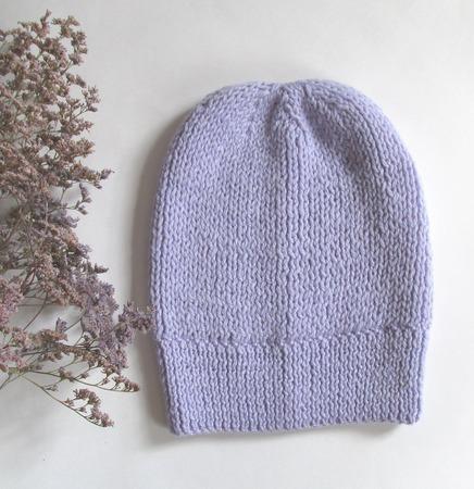 Вязаный комплект шапка-берет,снуд и митенки ручной работы на заказ