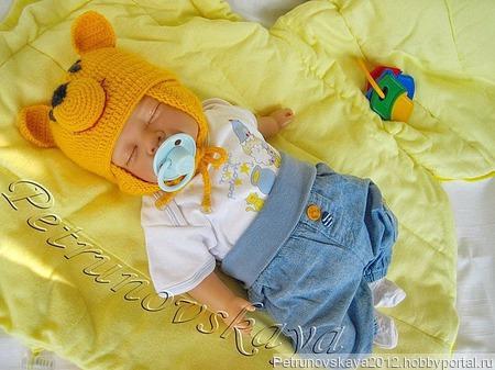 """Конверт """"Тэдди""""  для новорожденных ручной работы на заказ"""