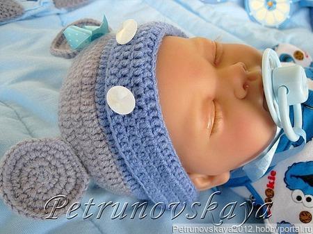 """Конверт """"Микки"""" для новорожденных ручной работы на заказ"""