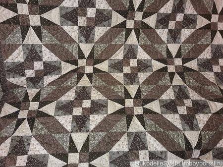 Двухспальное одеяло – покрывало ручной работы ручной работы на заказ