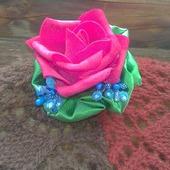 Брошь-заколка Роза