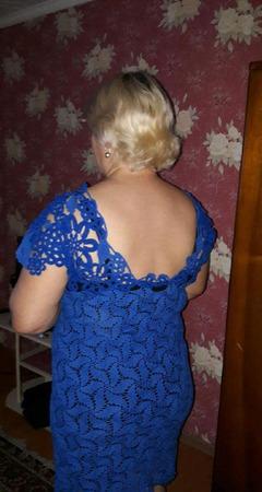 Платье в стиле ирландского кружева ручной работы на заказ