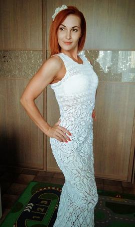 Платье Летний зефир ручной работы на заказ