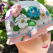 Шляпка,сумочка и митенки для девочки