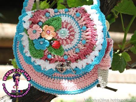 Шляпка,сумочка и митенки для девочки ручной работы на заказ