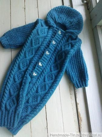 Комбинезон для новорожденного ручной работы на заказ