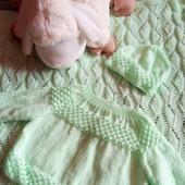 Мятный комплект для новорожденного