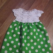 Платье Горошки