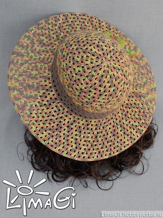 """Шляпа """"Сафари"""" ручной работы на заказ"""