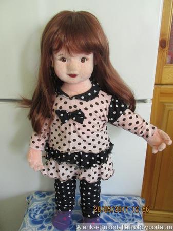 Кукла Сашенька ручной работы на заказ