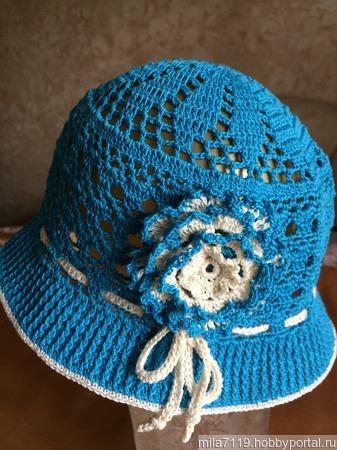 Детская шапочка ручной работы на заказ