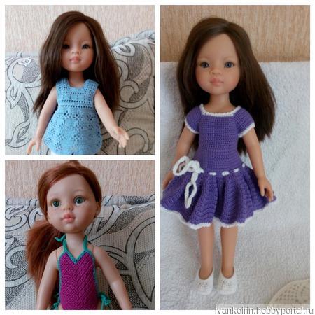 Одежда на кукол Паола Рейна ручной работы на заказ