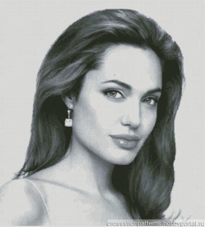 Анджелина Джоли ручной работы на заказ