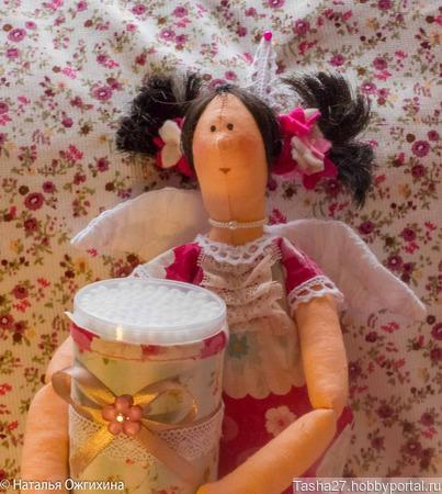 Текстильная кукла  Чистюля ручной работы на заказ