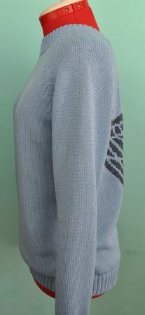 """Пуловер из хлопка """"Крылья ангела"""" ручной работы на заказ"""