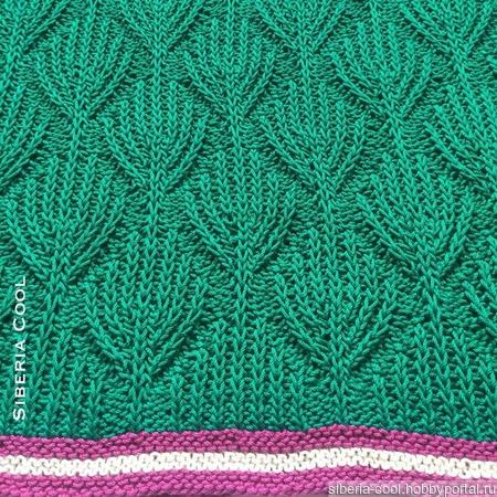 Вязаный свитер Макаронс ручной работы на заказ