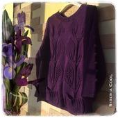 Вязаный свитер Лианы