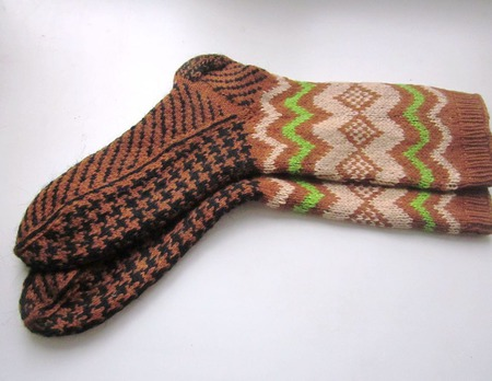 """Носки """"Одри""""  в подарок мужчине женщине ручной работы на заказ"""