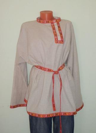 Рубашка-косоворотка ручной работы на заказ