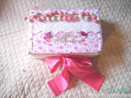 Шкатулка Мамины сокровища ручной работы на заказ