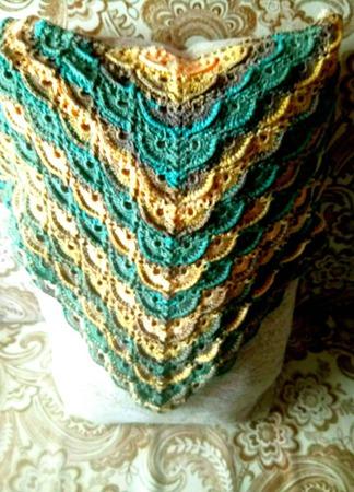 Бактус (шейный платок) ручной работы на заказ