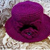 Шляпа вязаная (пример)