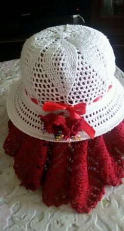 Шляпа вязаная (пример) ручной работы на заказ