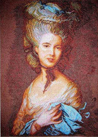 Портрет графини де Бофор ручной работы на заказ