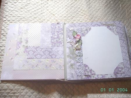 Свадебный фотоальбом ручной работы на заказ