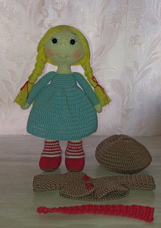 Кукла Даша ручной работы на заказ