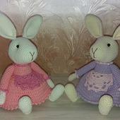 фото: Куклы и игрушки (зайки в платьях)