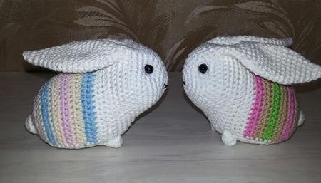 Кролики радужные ручной работы на заказ