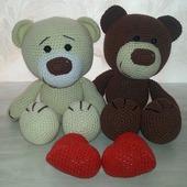 Влюблённые медвежата