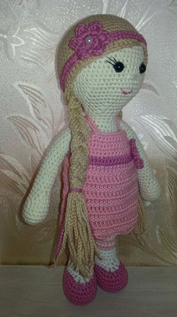 Кукла Розочка ручной работы на заказ