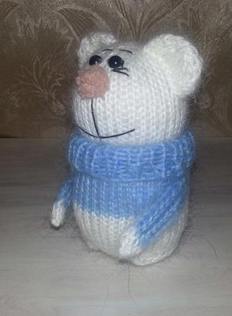 Зайка, киска и мишка в свитерах. ручной работы на заказ