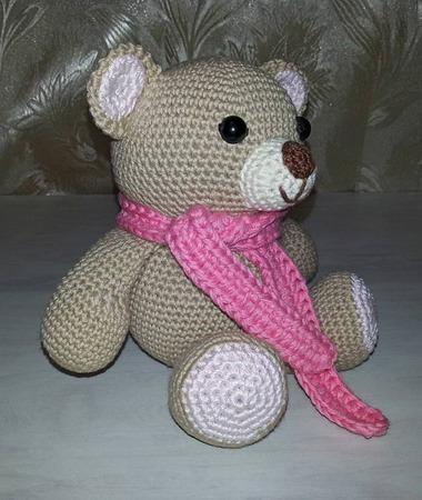 Медвежата вязаные ручной работы на заказ
