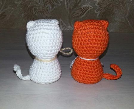 Котята вязаные ручной работы на заказ
