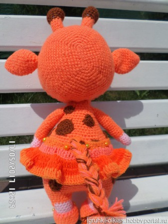 Куколка Бонни жираф ручной работы на заказ