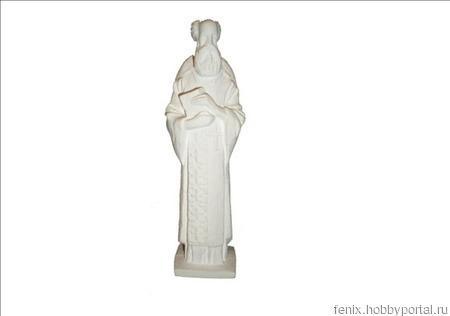 Николай Чудотворец скульптура ручной работы на заказ
