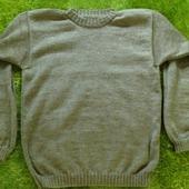 Мужской пуловер бежевый