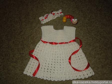 Платье для маленькой принцессы ручной работы на заказ