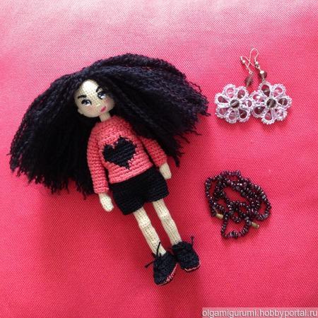 Каркасная кукла ручной работы на заказ