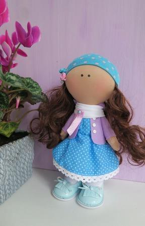 Малышка Лали (текстильная кукла ручной работы) ручной работы на заказ