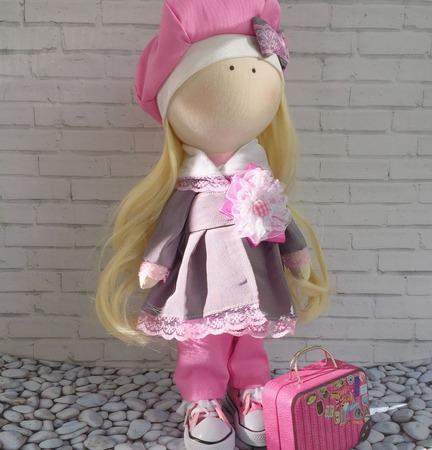 Кукла-путешественница ручной работы на заказ