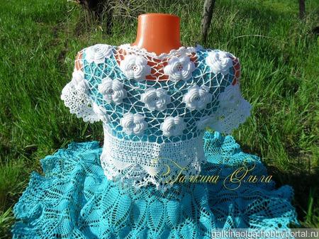 Платье  женское ручной работы на заказ