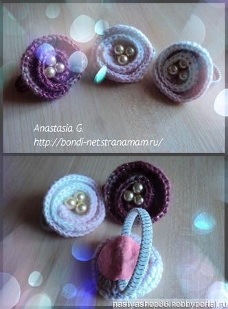 Милые резиночки для маленьких хвостиков ручной работы на заказ