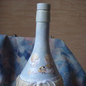 """Бутылка """"Ангелочки"""" для святой воды"""